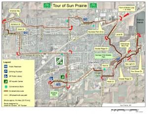 16 mile tour
